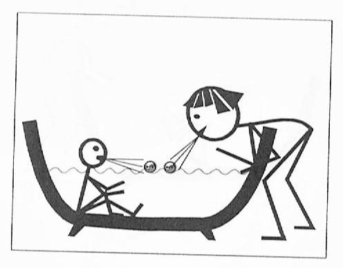 przepychanie zabawek